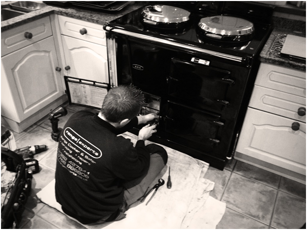 pans on electric stove