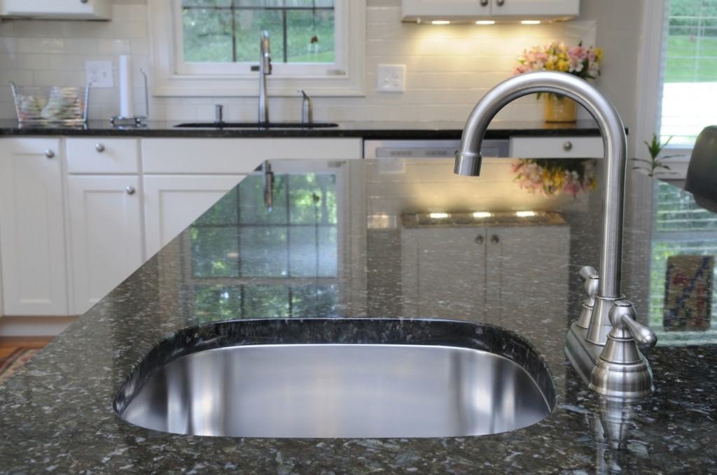 Kitchen Sink on Granite Counter