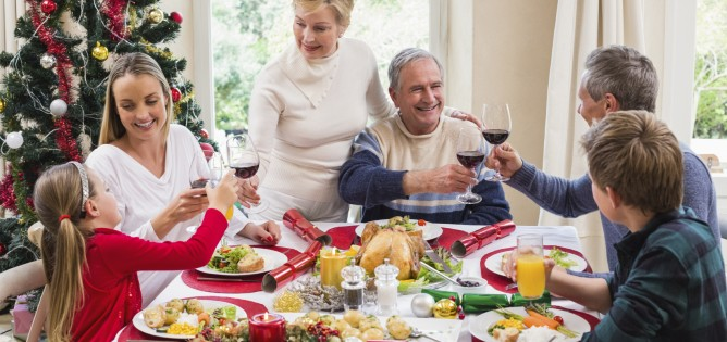 family christmas dinner iStock_000053496514_Medium